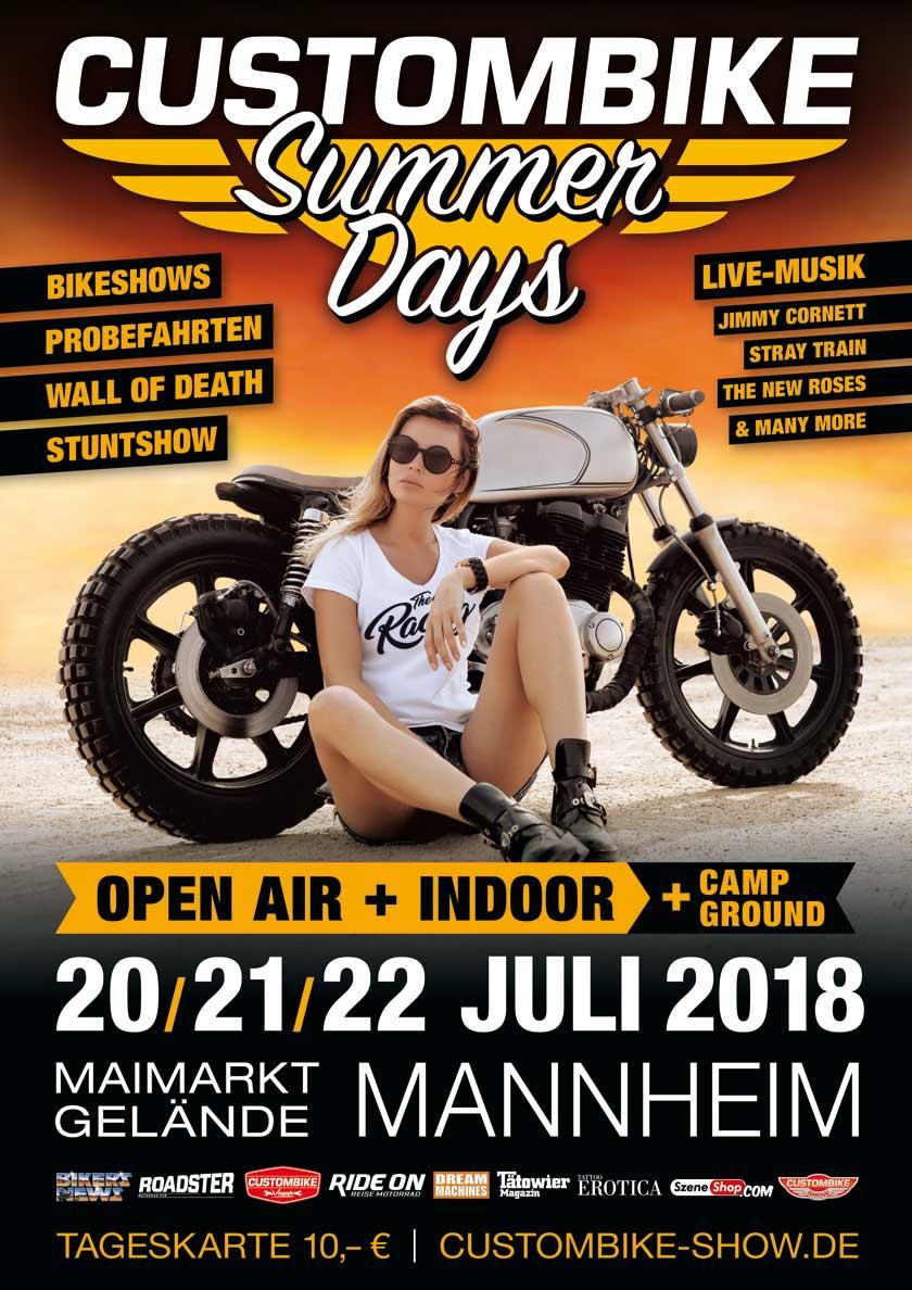 CustomBike Summer Days Mannheim 2018