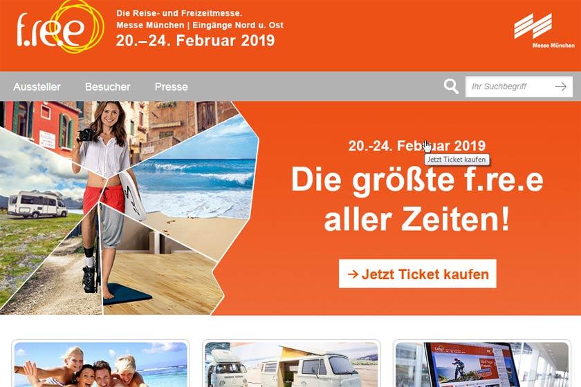 Reise-Freizeitmesse München 2019