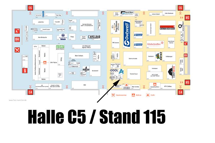 Hallenbelegung Halle C5/Stand 115 CS-Batteries