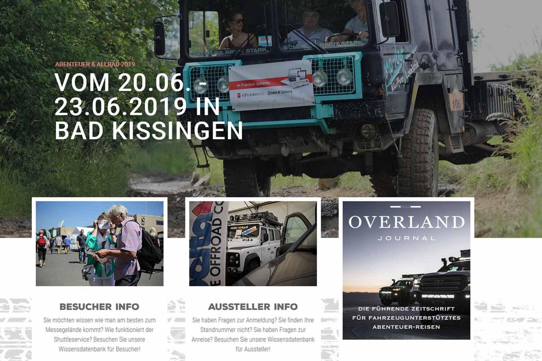 Abenteuer & Allrad Ausstellung Bad Kissingen