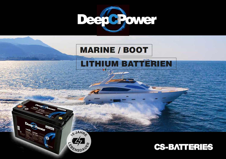 DeepCPower Lithium Batterie