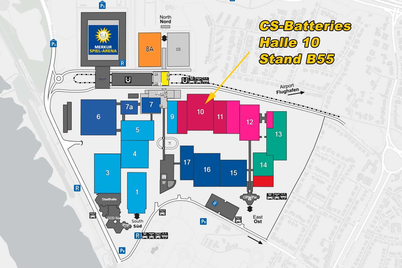 Lageplan Boot Messe Düsseldorf
