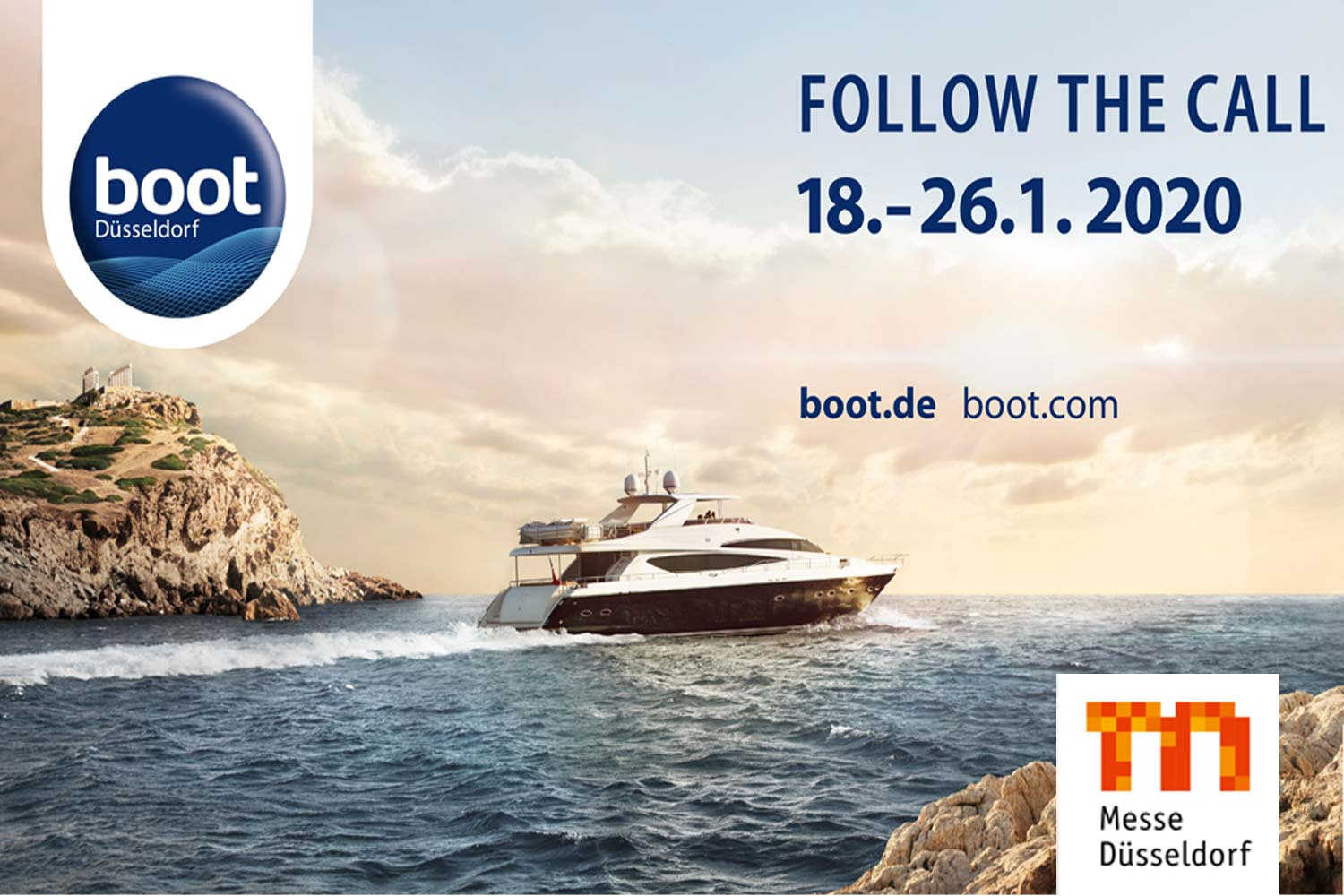 Boot Messe Düsseldorf 2020