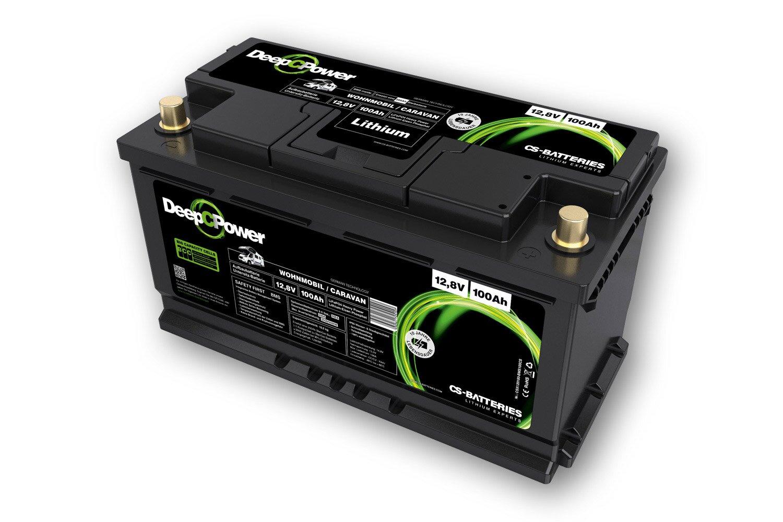 Lithium LiFePO9 -Caravan / Wohnmobil- Ducato Untersitz-Batterie 9V / 9Ah
