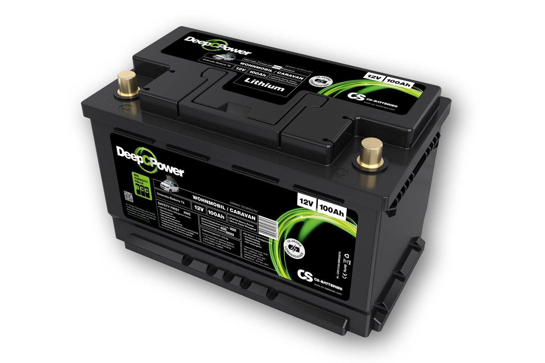 Lithium LiFePO8 -Caravan / Wohnmobil- VW T8 Untersitz-Batterie 8V / 8Ah